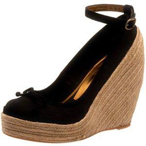 BCBGMAXAZRIA Women's Sevilla Sandal Black Size 8.5